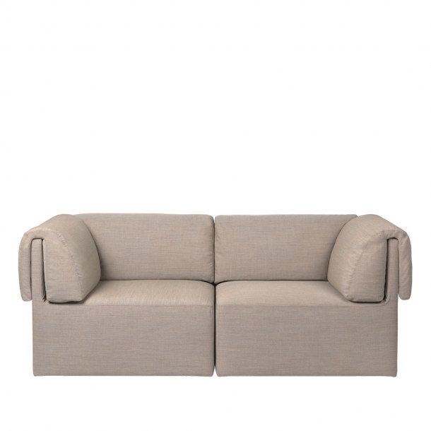 Gubi - Wonder Sofa | Fully Upholstered | 2 seater | With Armrest
