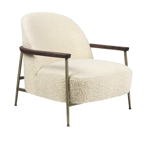 Gubi - Sejour Loungechair | Fully Upholstered | With Armrest