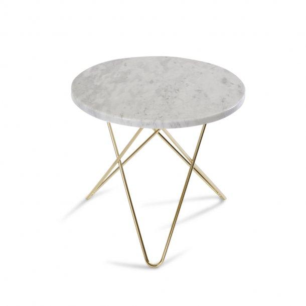 OX Denmarq - Mini O Table | White marble