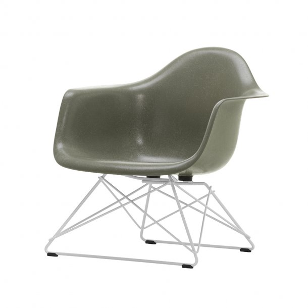 Vitra - Eames Fiberglass Armchair LAR | Pulverlakeret