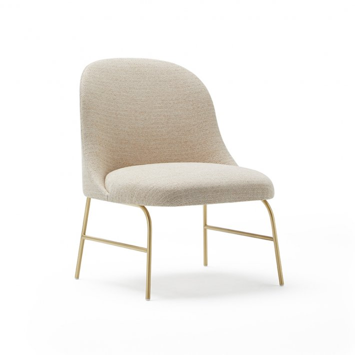 Viccarbe -  Aleta Lounge Chair | Metalben
