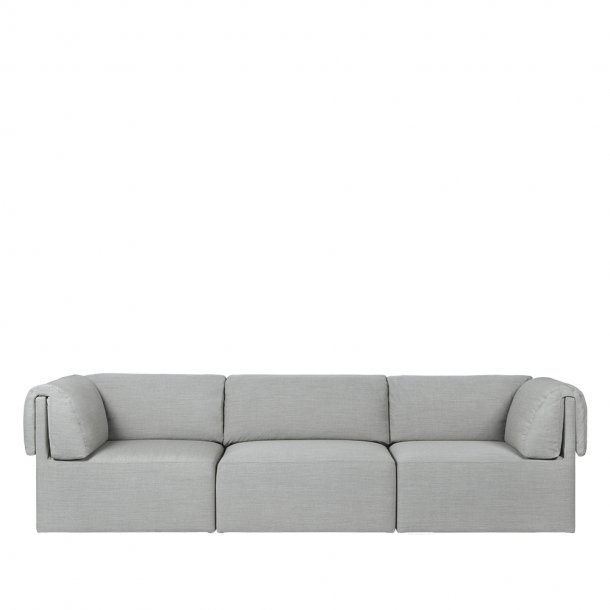 Gubi - Wonder Sofa | Fully Upholstered | 3 seater | With Armrest