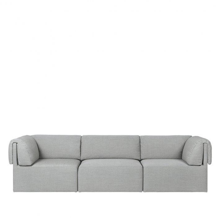 Gubi - Wonder Sofa | Fully Upholstered | 3 seater | With Armrest