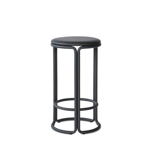 PLEASE WAIT to be SEATED - Hardie | Counter Stool Sæde: læderpolstret Stel: Metal