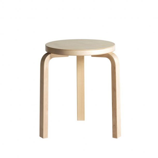 Artek - Stool 60 | Legs natural lacquered