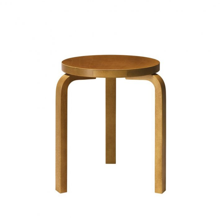 Artek - Stool 60 | Legs honey stained