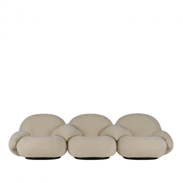 Gubi - Pacha Sofa | 3-seater | With armrest | Incl. middle armrest