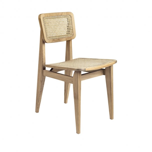 Gubi - C-Chair | Un-upholstered, All French Canne