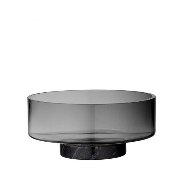 AYTM - VOLVI Glass Bowl W. Marble Base