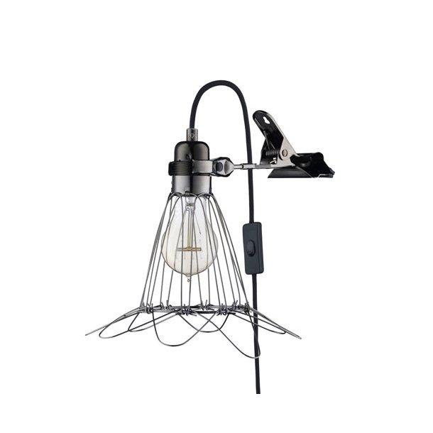 HEYTHEREHI - Work Lamp de Lux - Black/Black