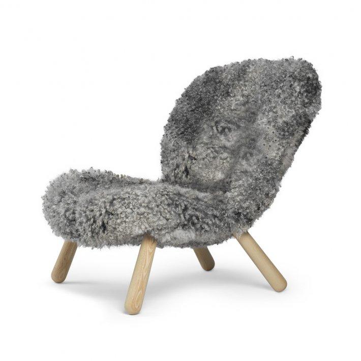 Paustian - Arctander Chair loungestol   Gotland Sheepskin