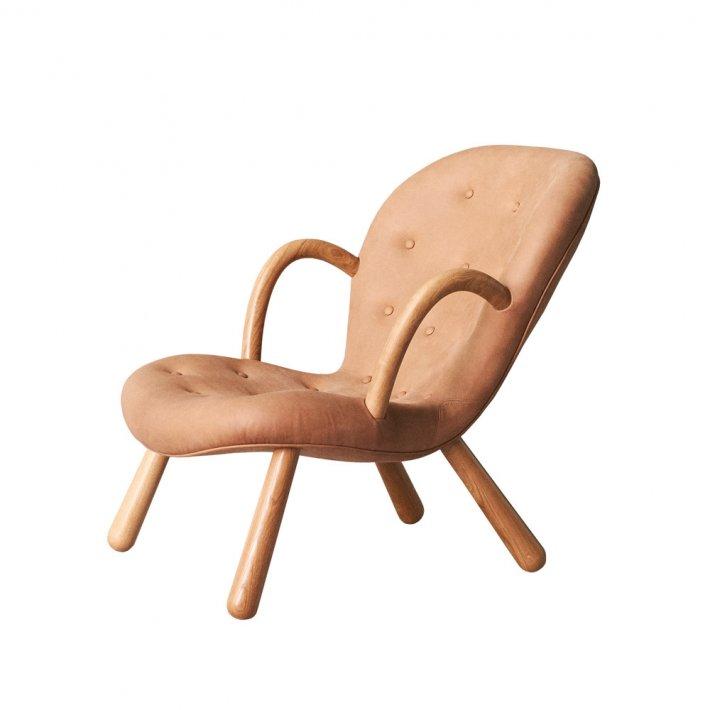 Arctander Chair w. armrests - Leather