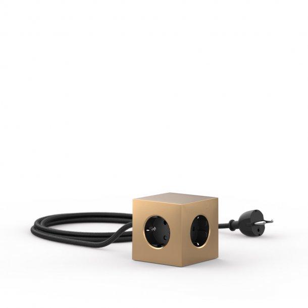 Avolt - Square 1 USB & Magnet | Brass