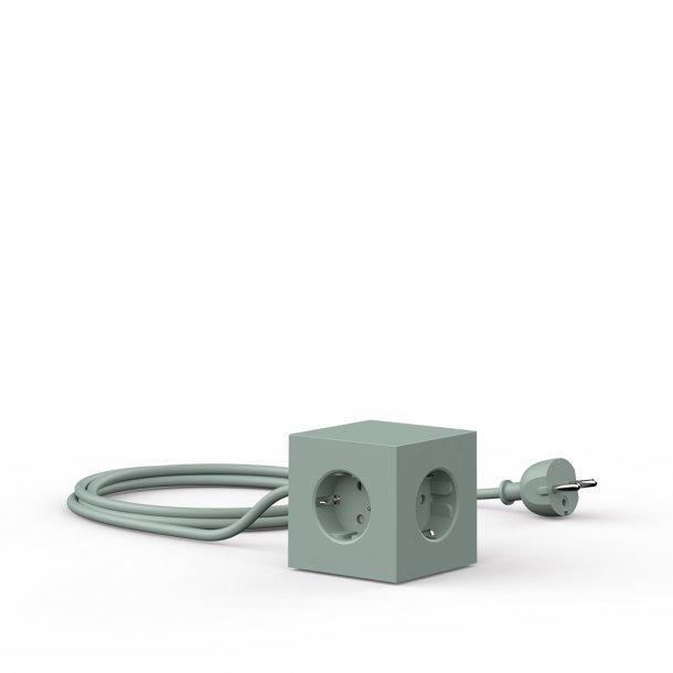 Avolt - Square 1 USB & Magnet | Oak Green