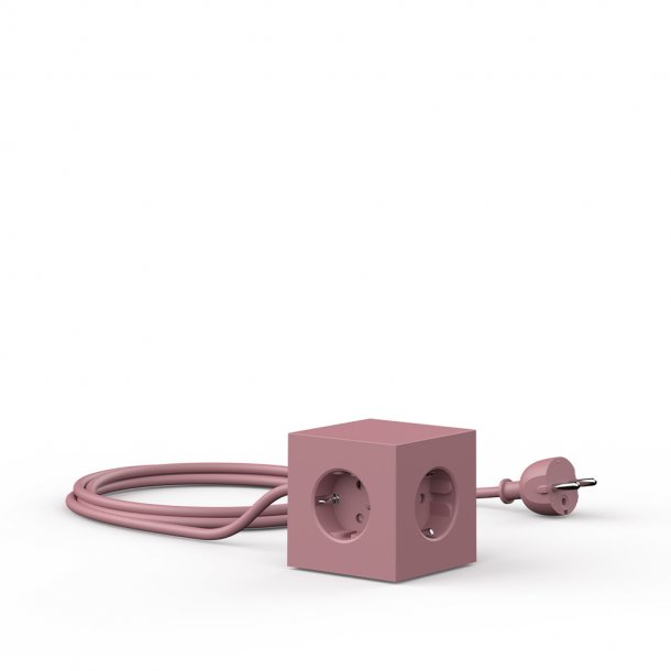 Avolt - Square 1 USB & Magnet | Rust Red