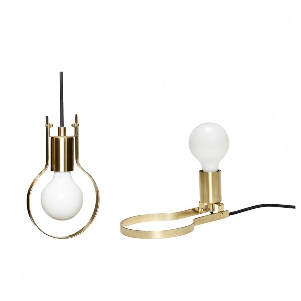 Hübsch - Pendel / Bordlampe