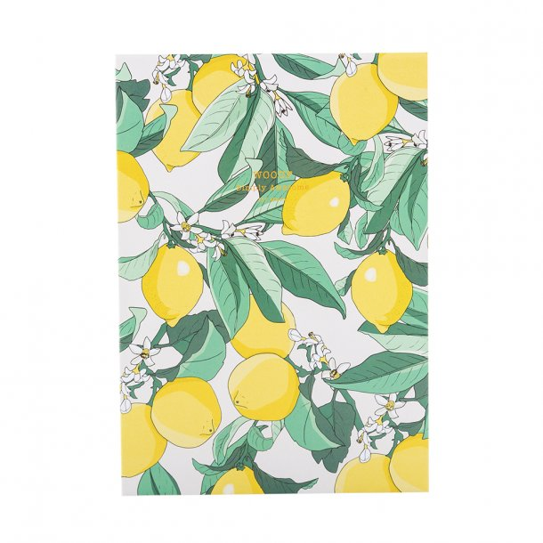 Wouf - Lemon - Notebook A5