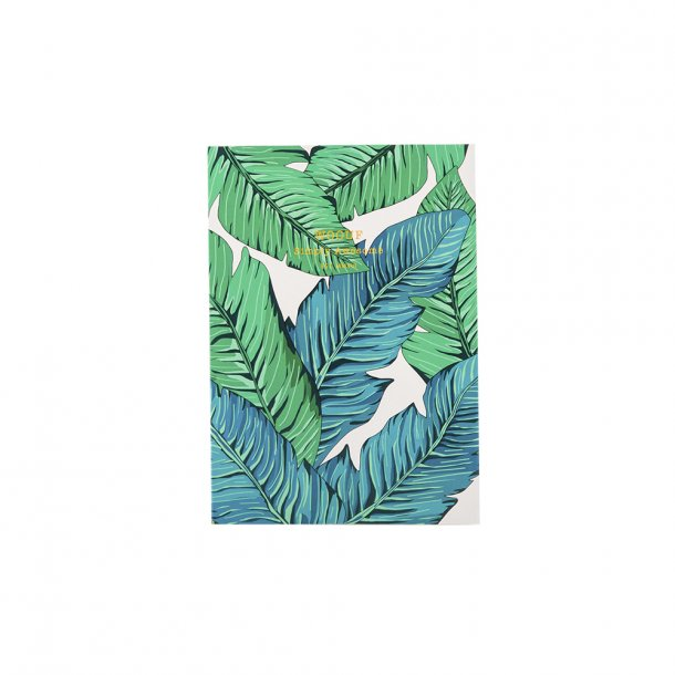 Wouf - Tropical - Notebook A6