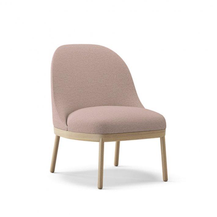 Viccarbe -  Aleta Lounge Chair   Træben