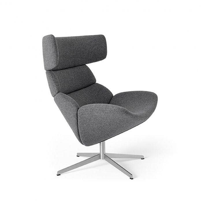 Erik Jørgensen - Asko High loungestol EJ 111 | Tekstil