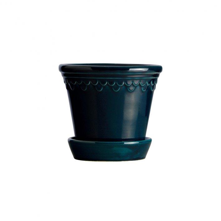 Bergs Potter - Slotspotten Københavner | Petroleum Blue