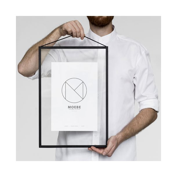 Moebe - Frame - Sort Aluminium