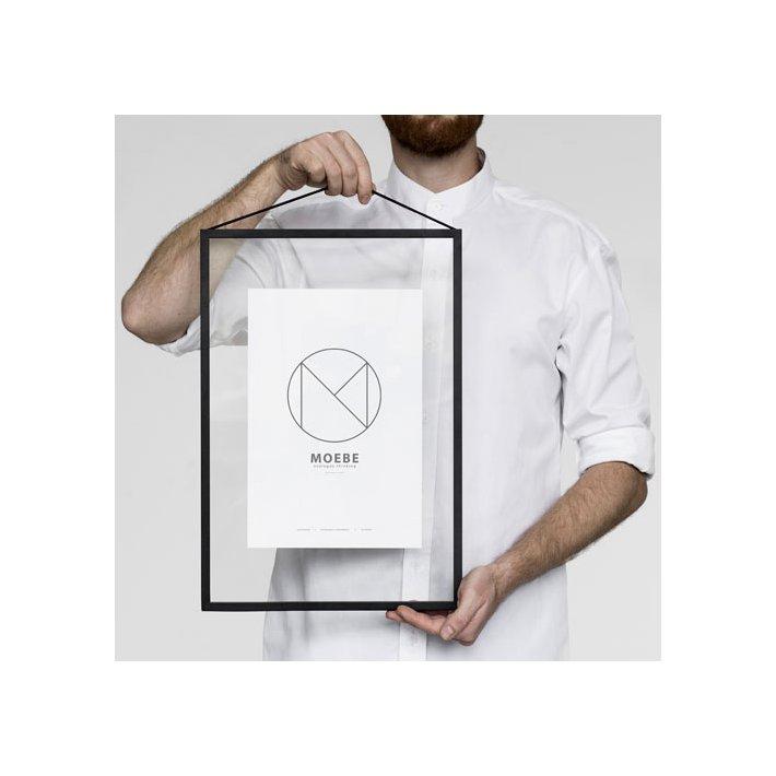 Frame - Sort Aluminium