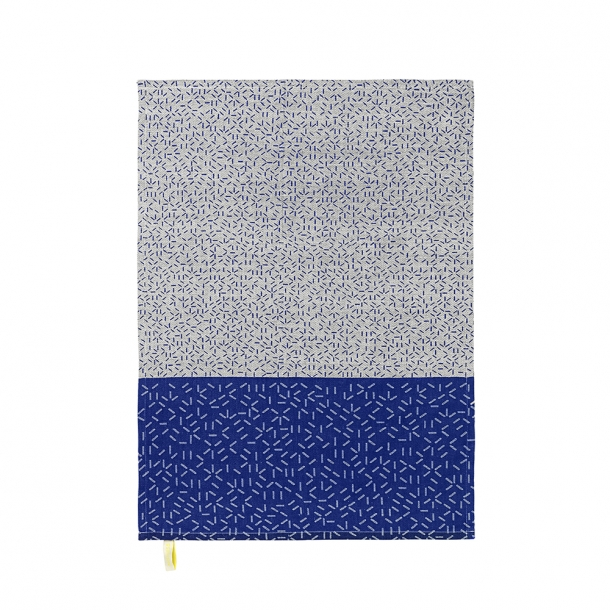 NOMESS - Splash Tea Towel - Blue - 2 pcs