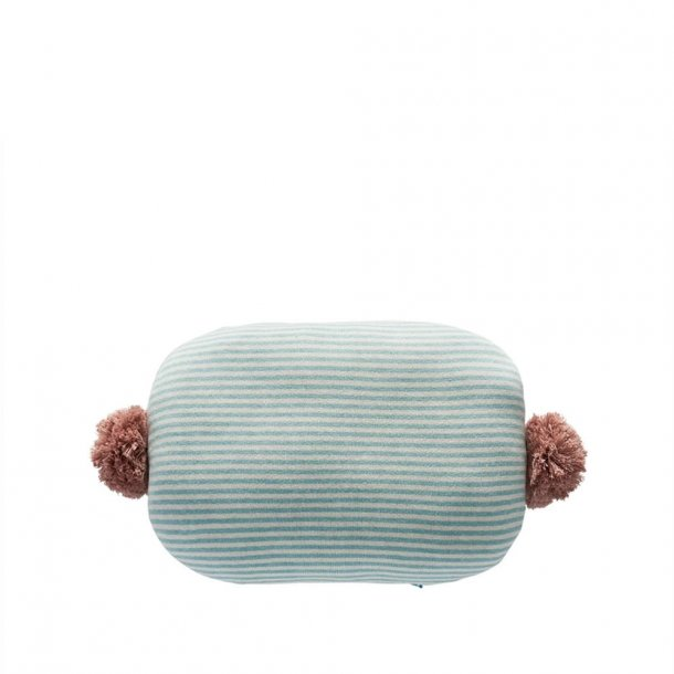 OYOY - BONBON Cushion - BLUE / WHITE