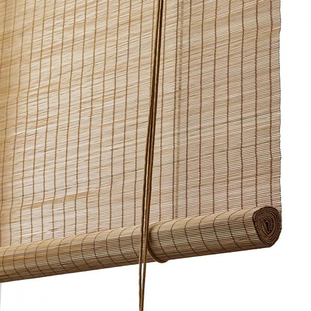 Color & Co - Rullegardin | Brun fin bambus