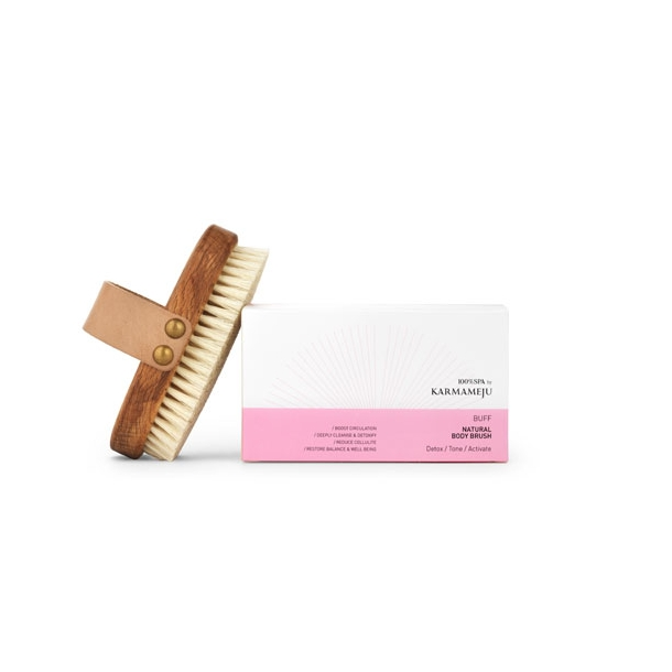 Karmameju - Body brush - Buff naturel - Body Brush