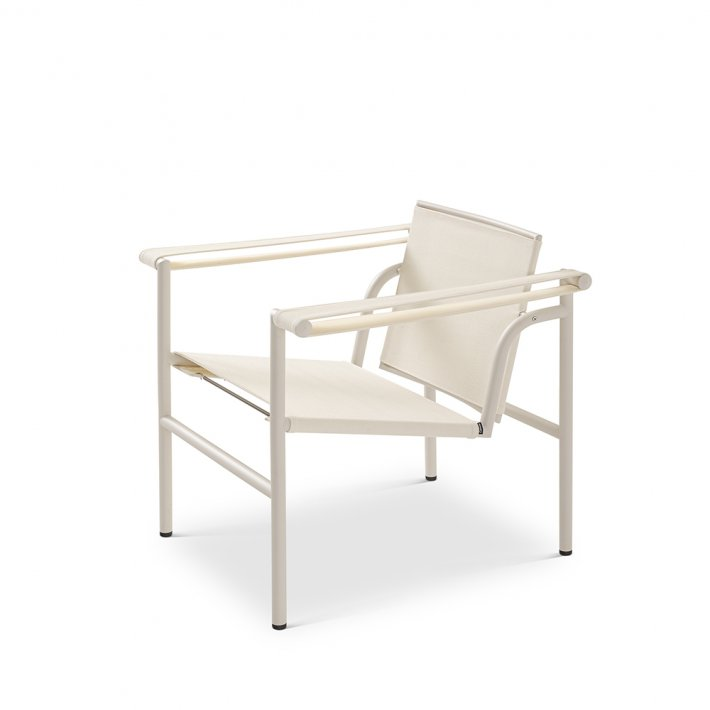 Cassina - LC1 Outdoor  Armchair | Ivory stel