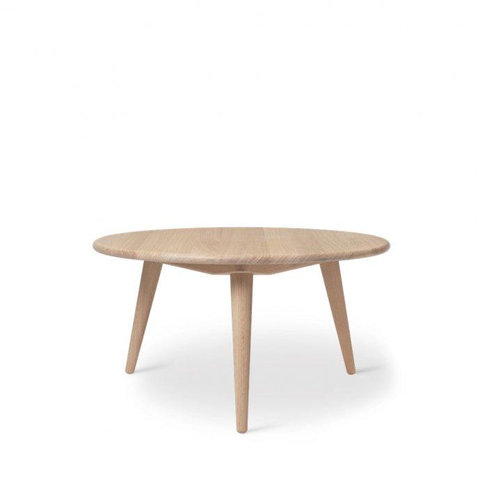 Carl Hansen & Søn - CH008 sofabord   Hvidolieret