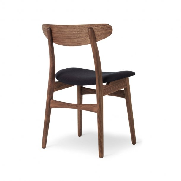 Carl Hansen & Søn - CH30P stol | valnød, olie, tekstil