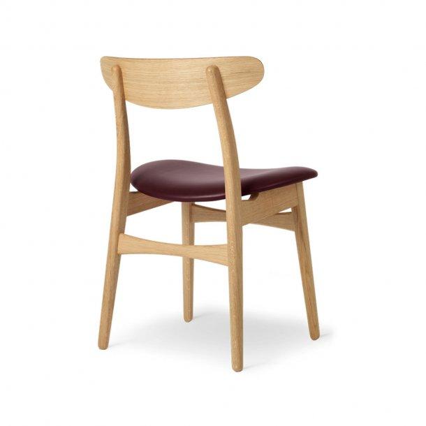 Carl Hansen & Søn - CH30P stol   eg, olie, læder
