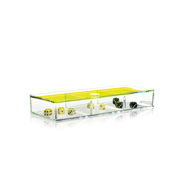 OUTLET - NOMESS | Clear Box With Lid | Neon*
