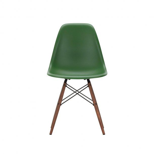 Vitra - Eames Plastic Side Chair DSW | Mørkbejdset ahorn