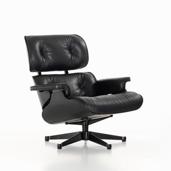 Eames Lounge Chair - Sortpigmenteret ask