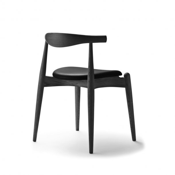 Carl Hansen & Søn - CH20 The Elbow Chair - eg, sortmalet