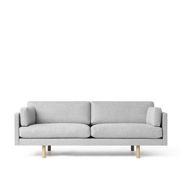 Erik Jørgensen - EJ 220-2 sofa | 2 pers., egetræsben, tekstil