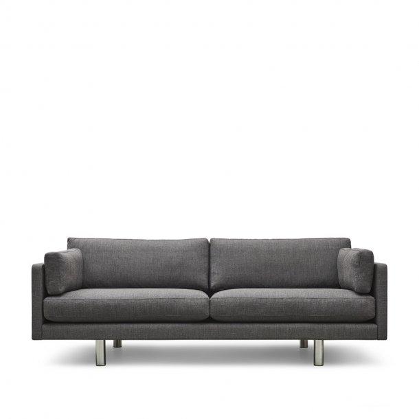 Erik Jørgensen - EJ 220-A sofa | 3 pers., kromben, tekstil
