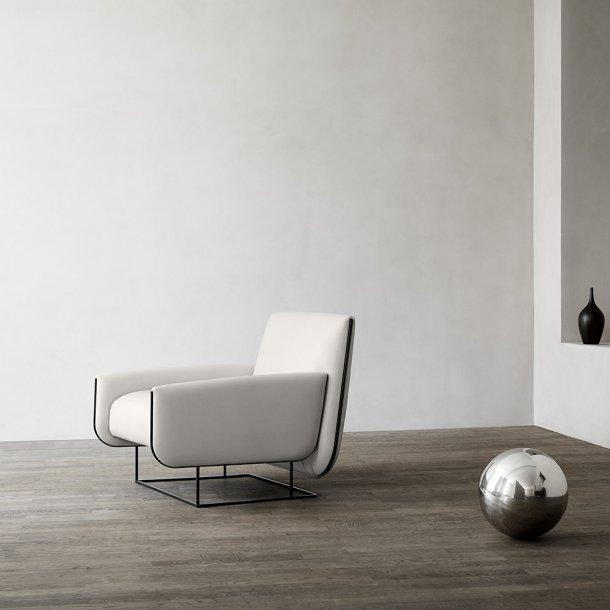 Erik Jørgensen - Ovo loungestol EJ 115 | Tekstil
