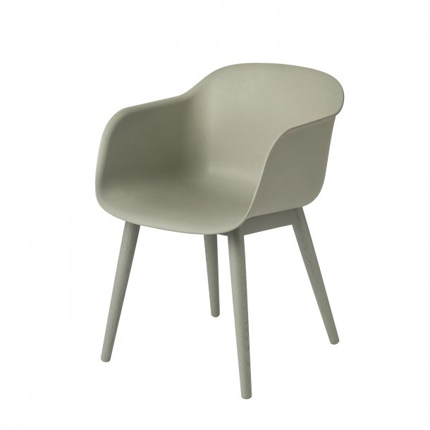 Outlet - Muuto - Fiber Arm Chair - Wood Base*