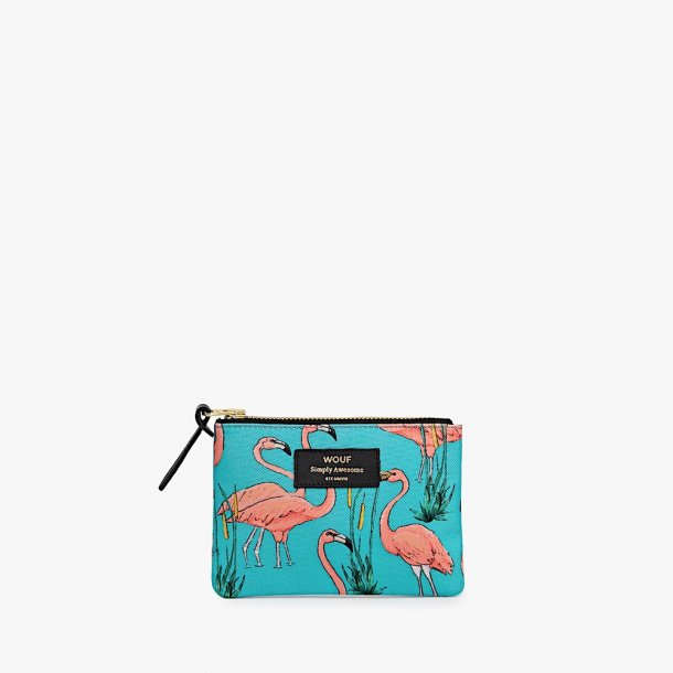 Wouf - Pink Flamingos - Pouch