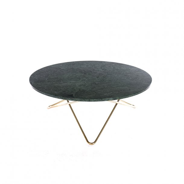 OX Denmarq - Large O Table | Green marble