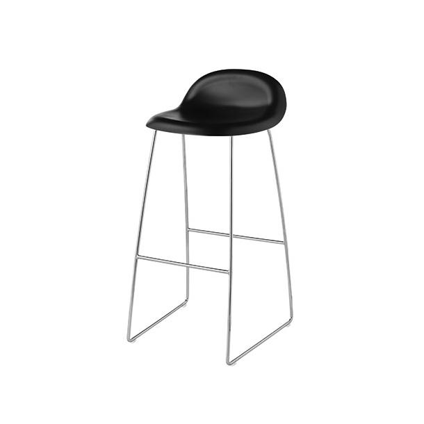 Gubi - Gubi 3D 66cm Sledge | HiRek | Barstol