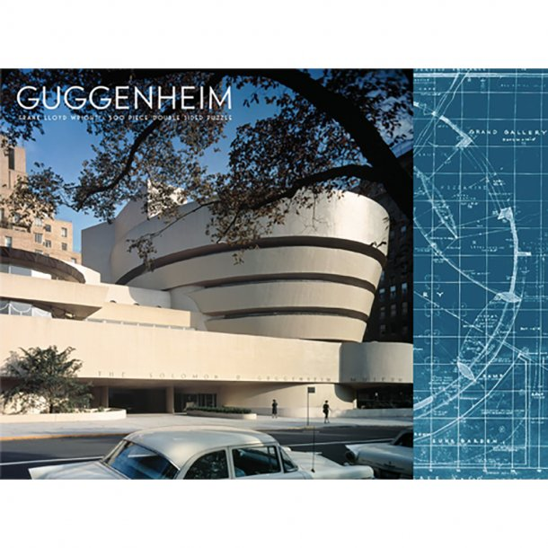 New Mags - Guggenheim | 2 Sided 500 pieces Puzzle