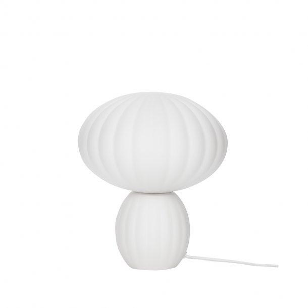 Hübsch - Bordlampe, glass, opal