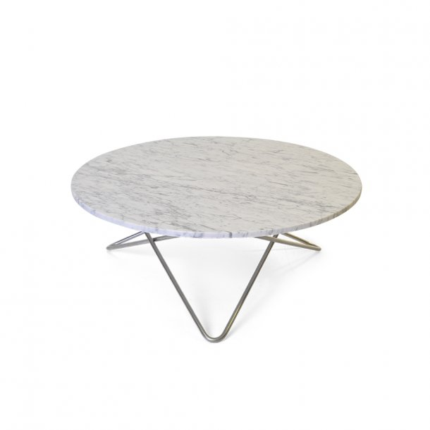 OX Denmarq - Large O Table | White marble