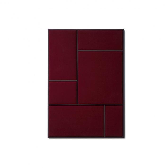 Please wait to be seated - Nouveau Pin | Rouge noir/blue steel